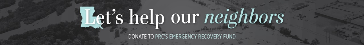 Emergency Recovery Fund Banner Let's Help Our Neighbors