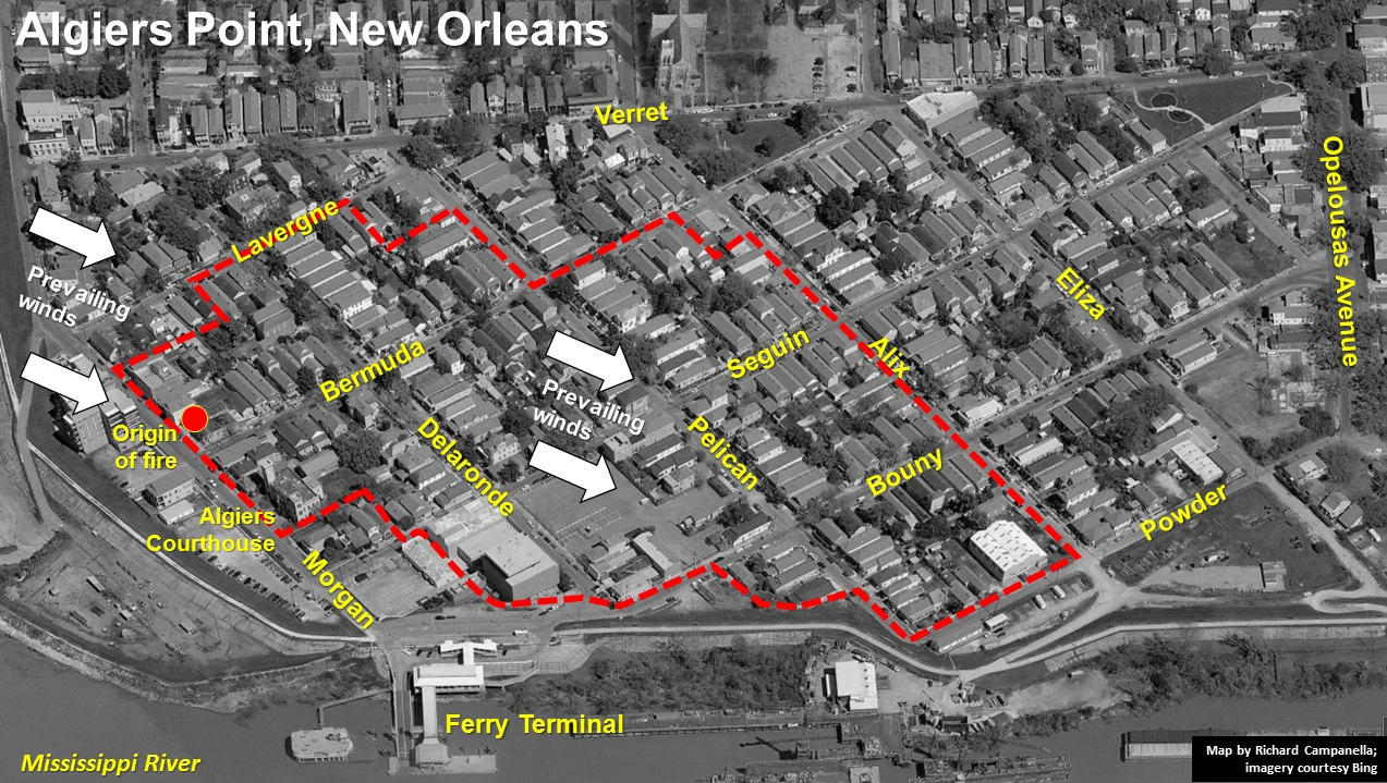The Great Fire of 1895 Preservation Resource Center of New Orleans