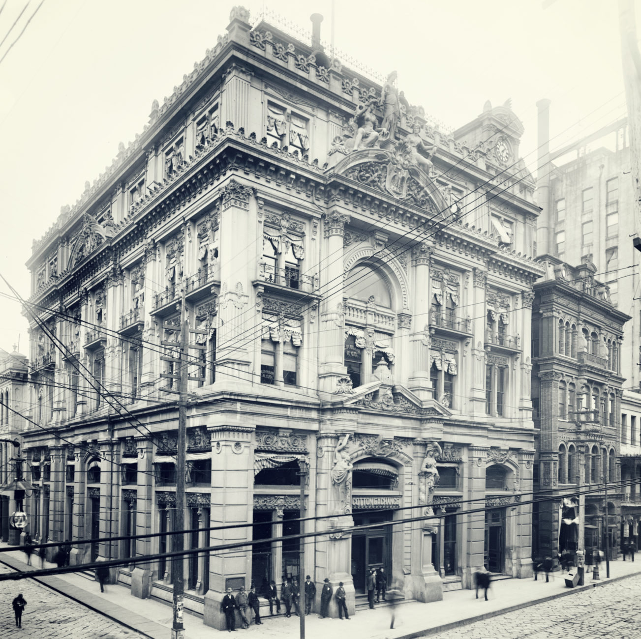 the new orleans cotton exchange 1871 1964 preservation resource