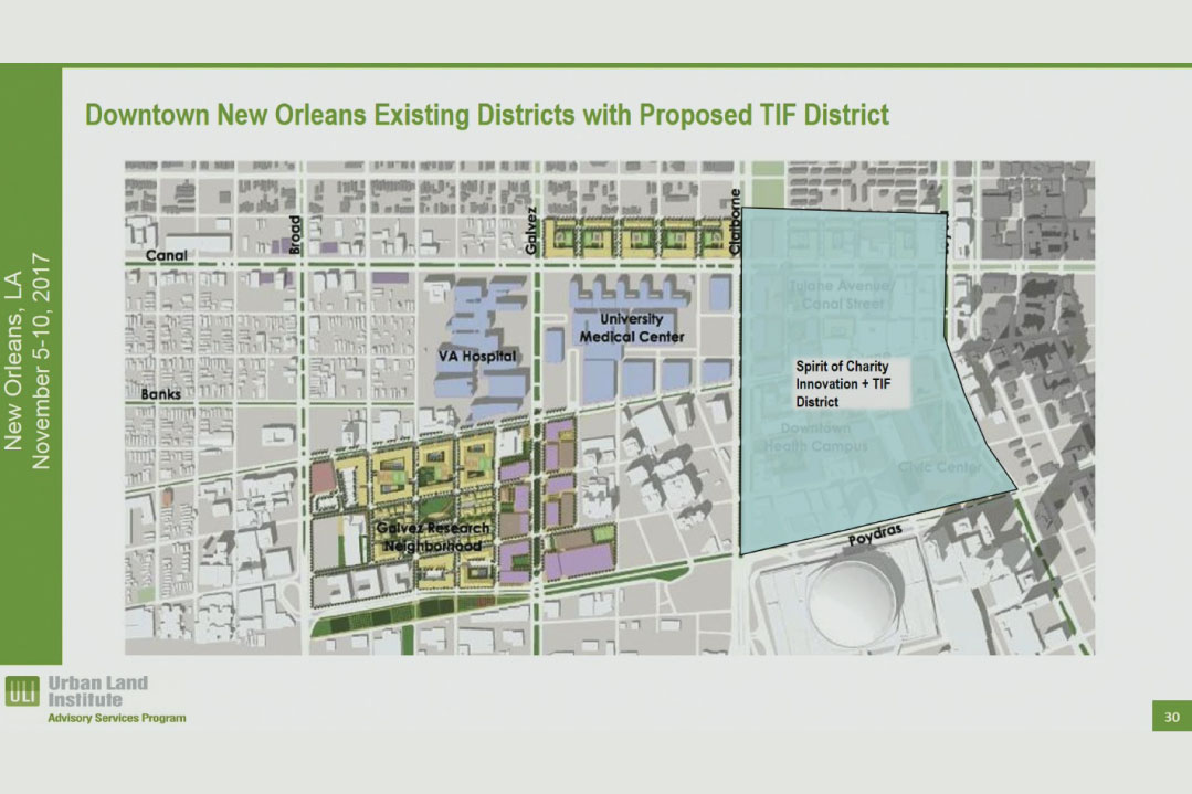 Planning experts present recommendations for redevelopment