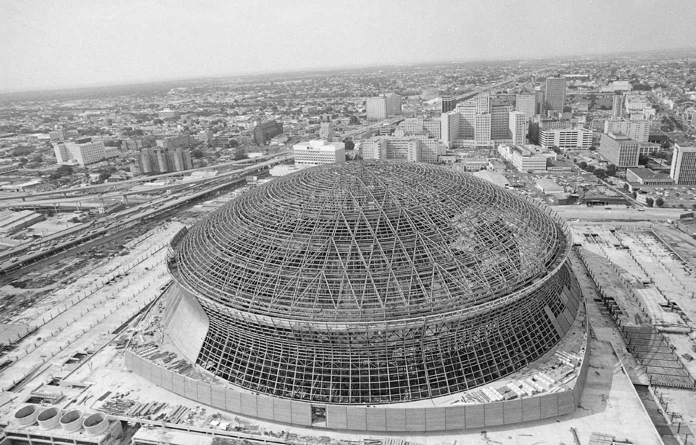 The Superdome Shaping The Skyline Amp Downtown Development