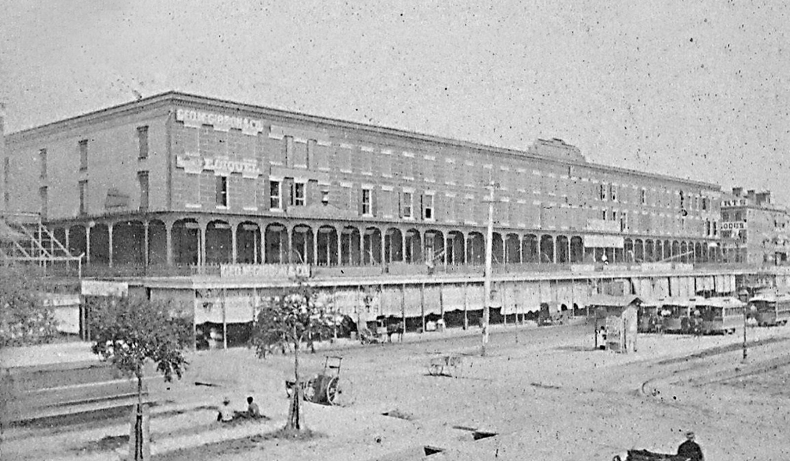 Touro Row, the Canal Street catalyst of the 1850s